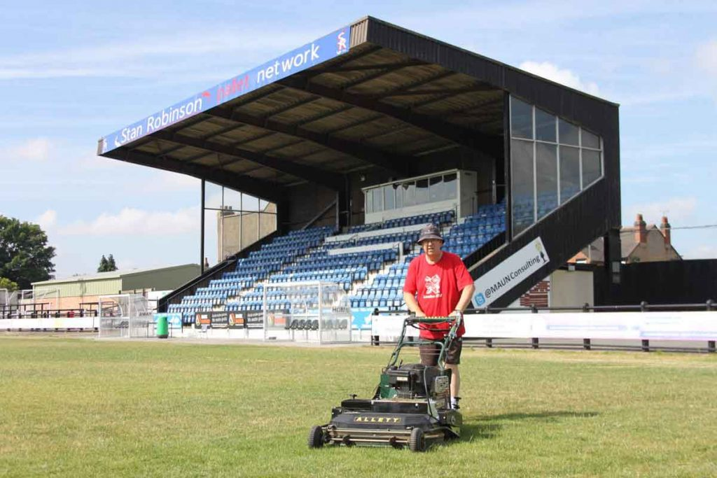 New mower at SRFC