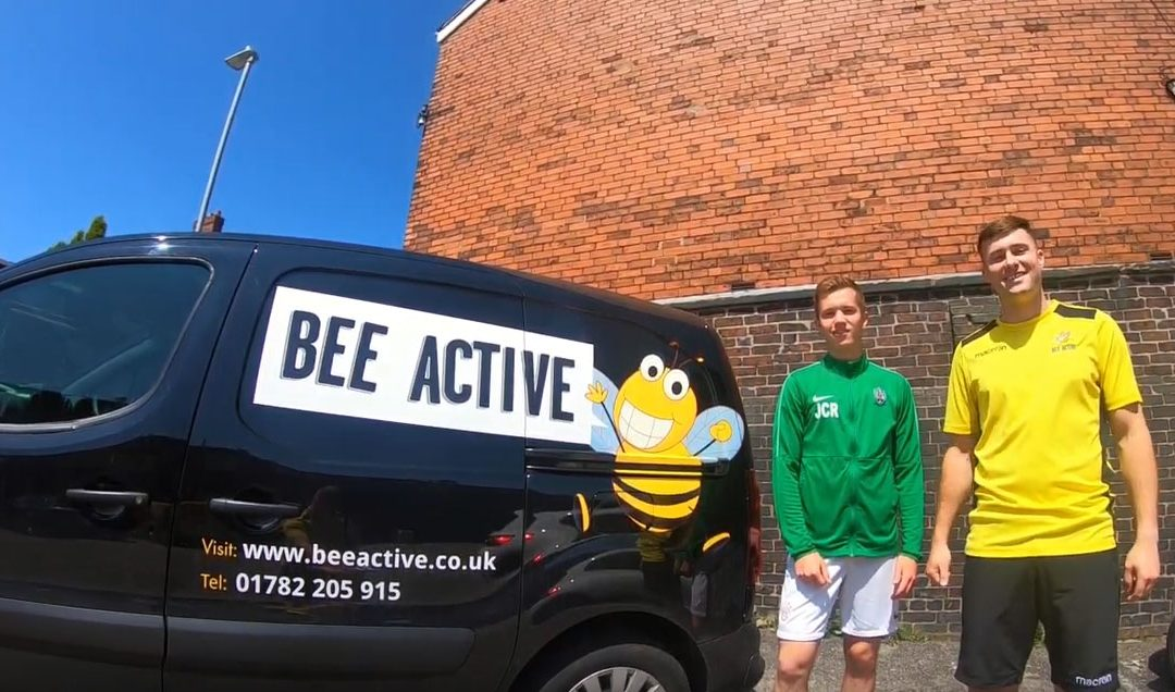 Stafford Rangers Partner Bee Active – A Season in the Eyes of a Professional