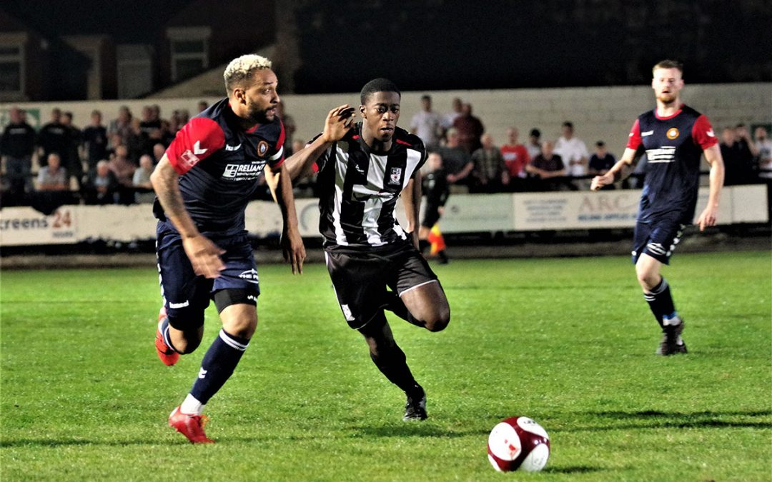Stafford Rangers v Rushall Olympic FA Cup 1st qualifying round Replay